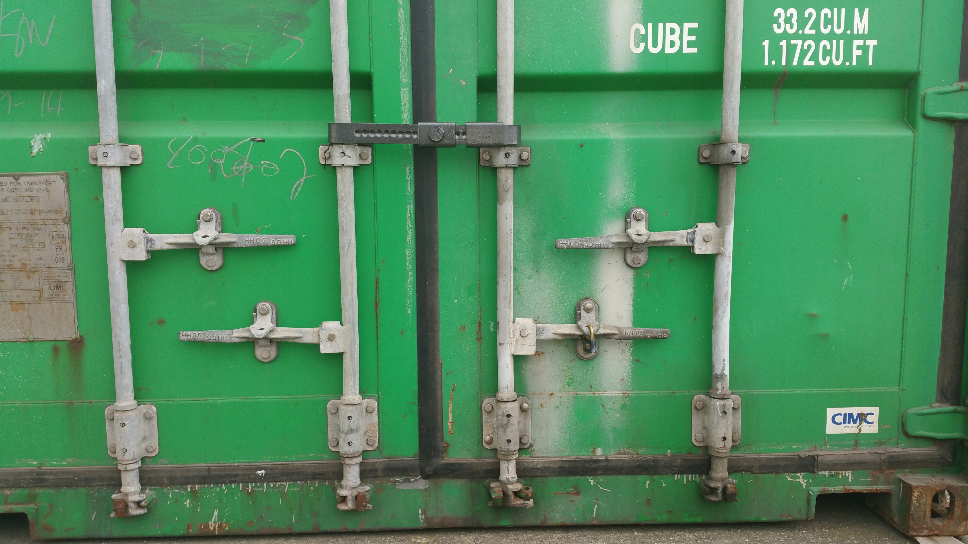 Cargo Defender Container Lock